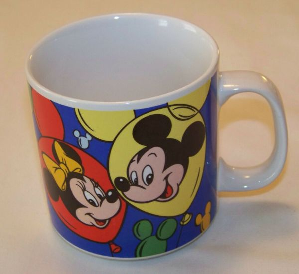 Disney 10oz Mug - Mickey & Minnie Mouse Goofy Pluto