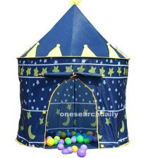 Portable Blue Baby Boys Folding Tent Play House Castle ...