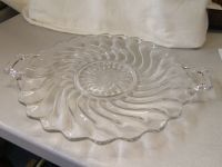 Fostoria Colony Handled Cake Plate