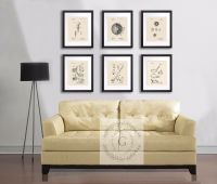 Vintage golf ball golf club patent art prints set of 6 ...