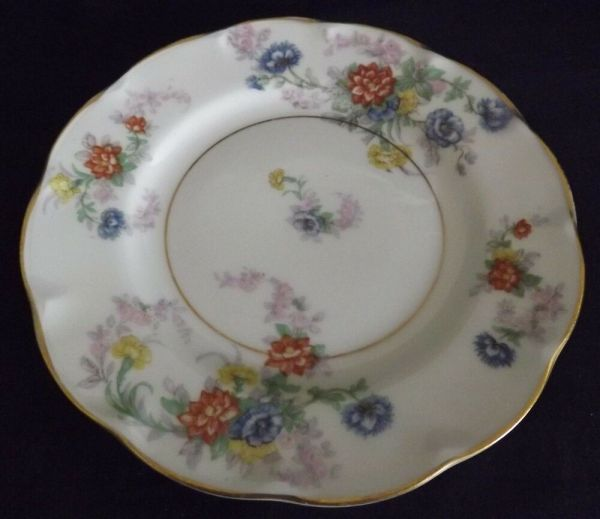 Theodore Haviland Limoges France Jewel 1936 Bread Plate