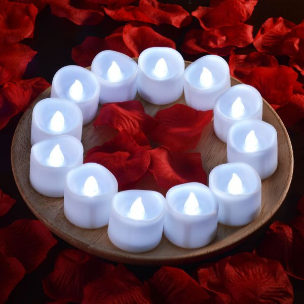 660pcs Electronic Flameless LED Tea light Candles