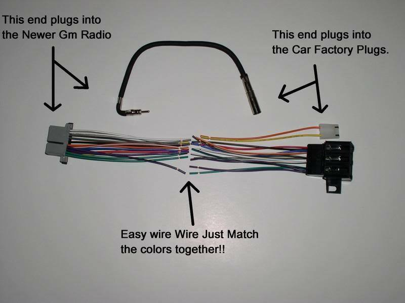 Radio Wiring Color Code Furthermore Radio Wiring Harness Diagram On