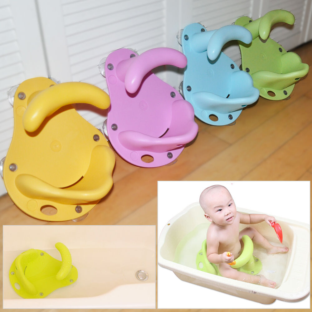 1 3 Years Old Baby Bath Tub Seat Infant Child Toddler Kid