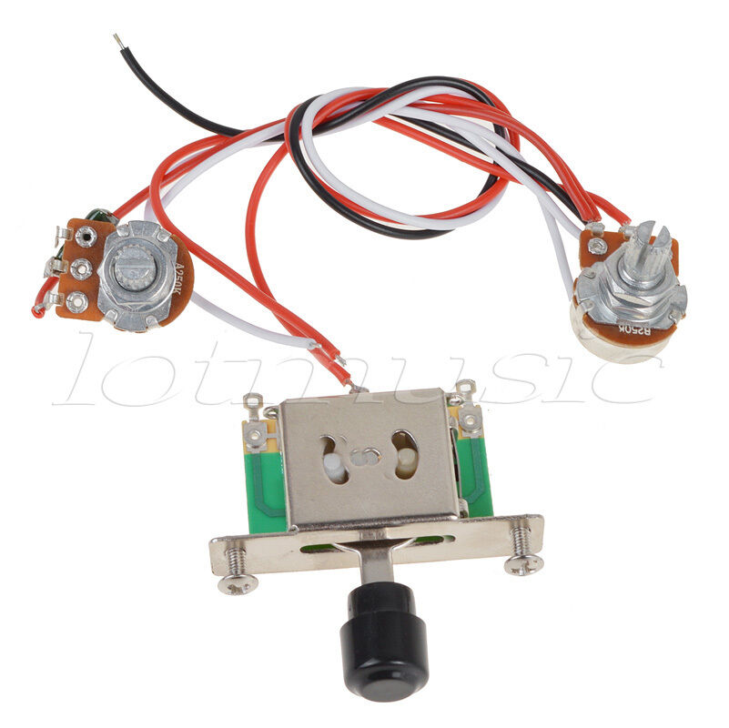 Three Way Switch For Guitar