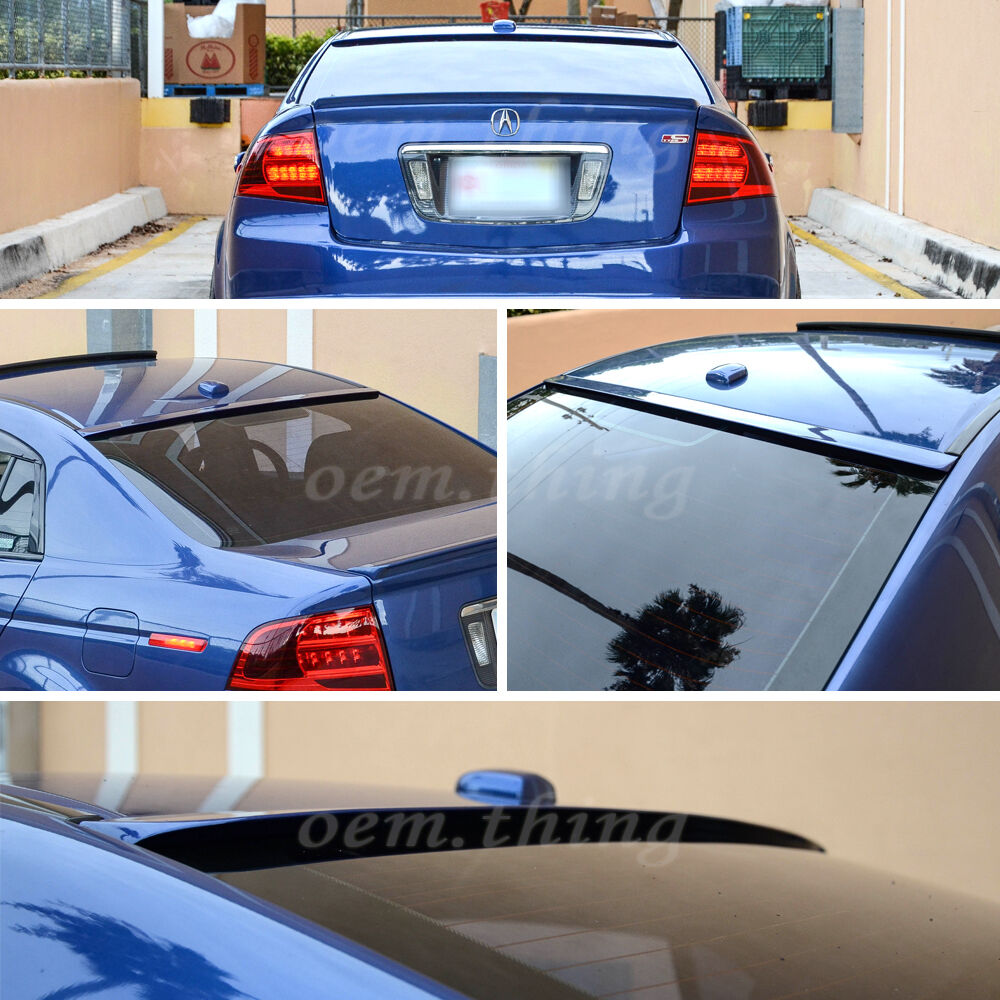 PAINTED #NH731P V VRS Type ACURA TL 4TH SALOON REAR WINDOW ROOF SPOILER 09+