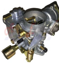 vw 34 pict 3 carburetor with hardware type 1 2 volkswagen beetle 98 1289 b 12v ebay [ 1000 x 859 Pixel ]