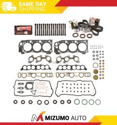details about head gasket set timing belt kit fit 95 04 toyota 4runner tundra 3 4 5vzfe [ 1000 x 1000 Pixel ]
