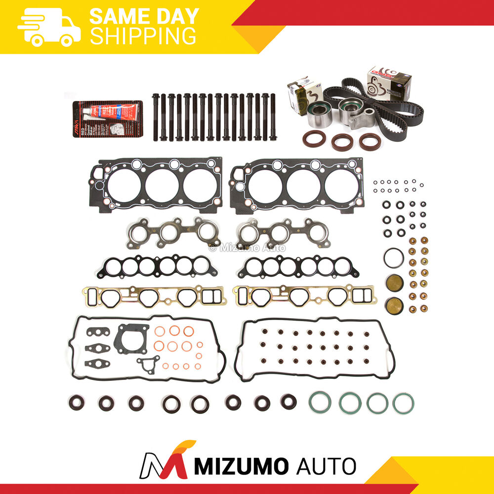 hight resolution of details about head gasket set timing belt kit fit 95 04 toyota 4runner tundra 3 4 5vzfe