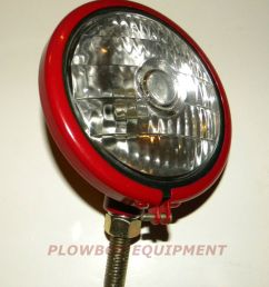 6 v headlight for farmall cub super a c h m 100 130 200 farmall m with belt pulley farmall super m pulling tractor [ 811 x 1000 Pixel ]