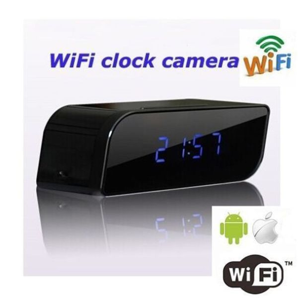 WIFI HD 720P Spy Alarm Clock Camera DVR Camcorder Digital