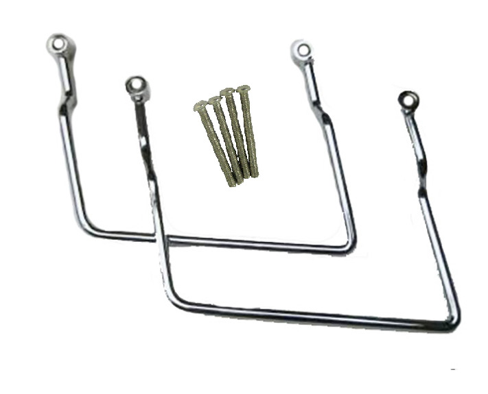 Saddlebag Supports Brackets for 2004-up Harley Davidson