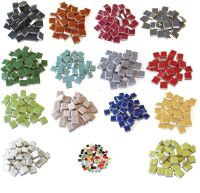 "3/8"" Ceramic Tiles 16 oz Bulk 500 Pcs +"