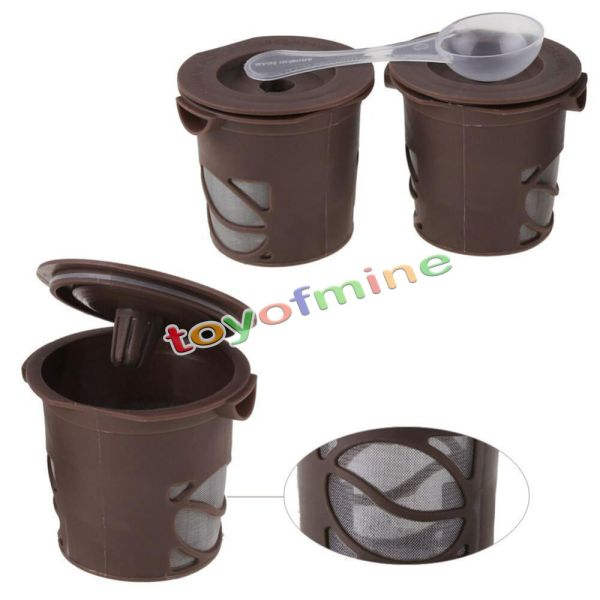 Keurig -cups Refillable Coffee Single Cup Reusable Filter Machine Sm