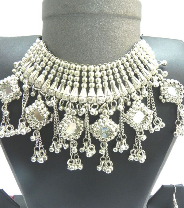 Silver Tribal Jewelry India