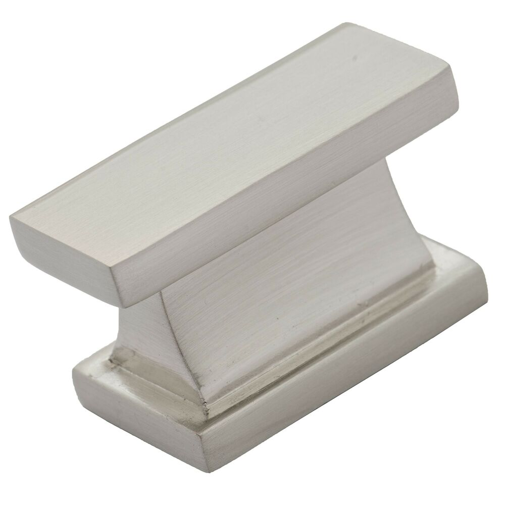 Brushed Nickel Cabinet Knob By Southern Hills  Rectangle