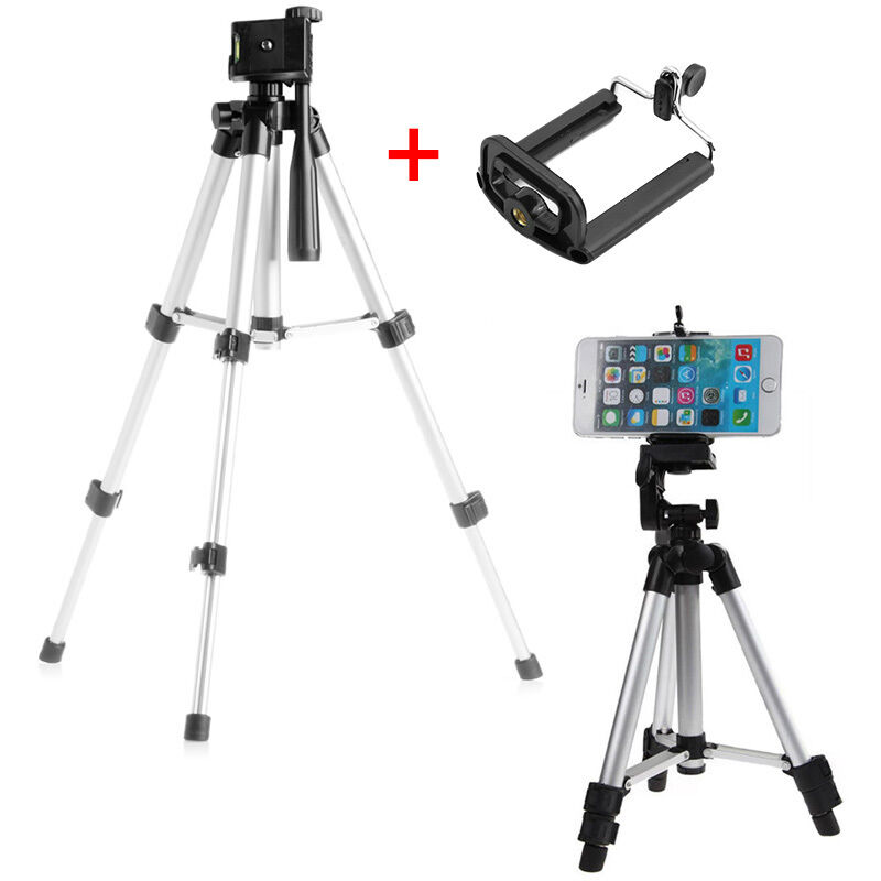 Extendable Legs Camera Tripod Mount Stand Holder for