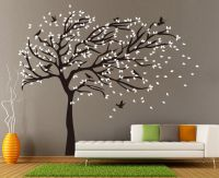X-Large Birds Tree Branch Wall Stickers Vinyl Decals UK ...