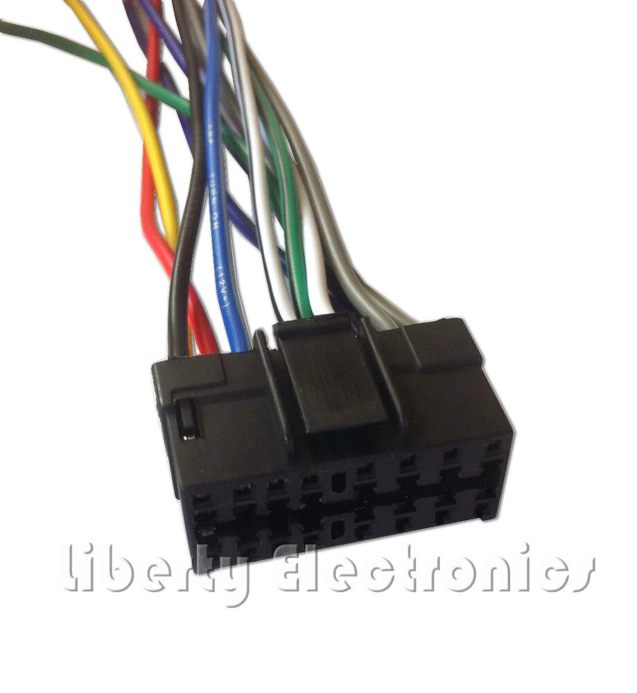 medium resolution of details about new wire harness for pioneer deh p2000 deh p2000r