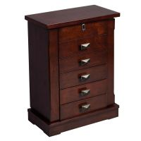 NEW 1X Jewelry Cabinet Storage Box Chest Stand Necklace ...
