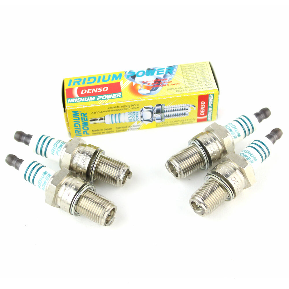hight resolution of details about 4x triumph spitfire 1500 genuine denso iridium power spark plugs