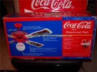 "New Coca Cola CEILING FAN 1997 Bottle 44"" Coke Globe ..."