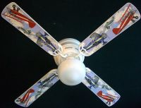 AIRPLANE VINTAGE AIRPLANES FAN CEILING FAN airplanes