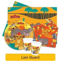 The Lion Guard King Tableware (Cups/Plates/Napkins ...