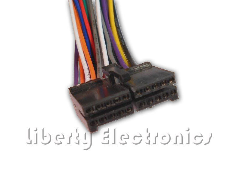 Kenwood 16 Pin Wiring Harness Cd Mp3 Plug For Kenwood Car Stereos