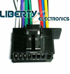 new 16 pin wiring harness plug for pioneer deh 1800 player ebaydetails about new 16 pin [ 1000 x 997 Pixel ]