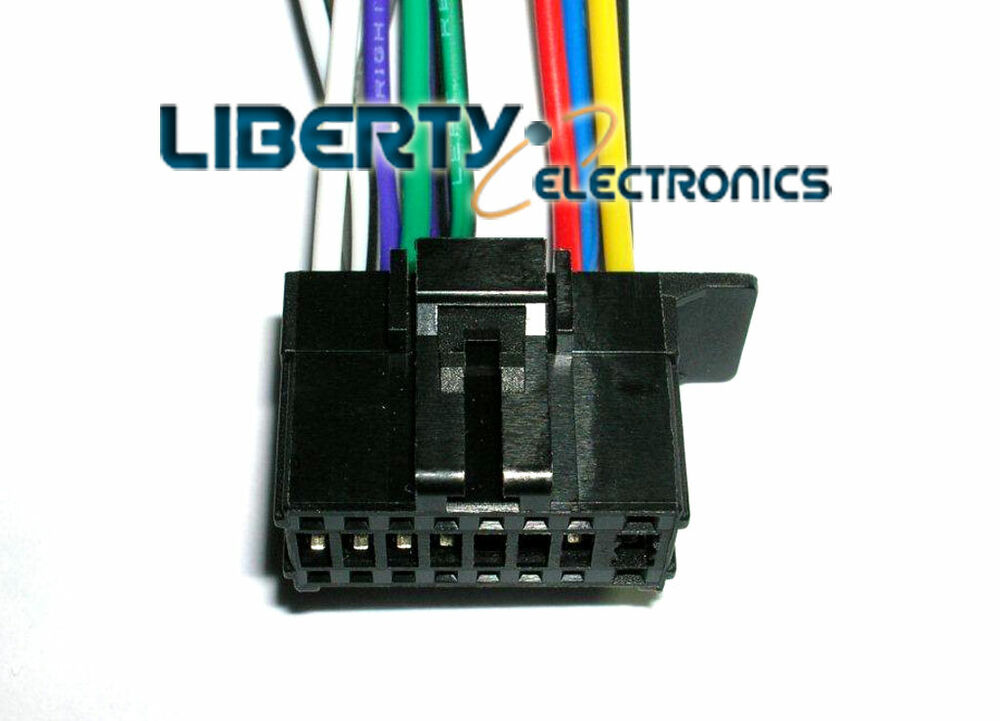 medium resolution of new 16 pin wiring harness plug for pioneer deh 1800 player ebaydetails about new 16 pin