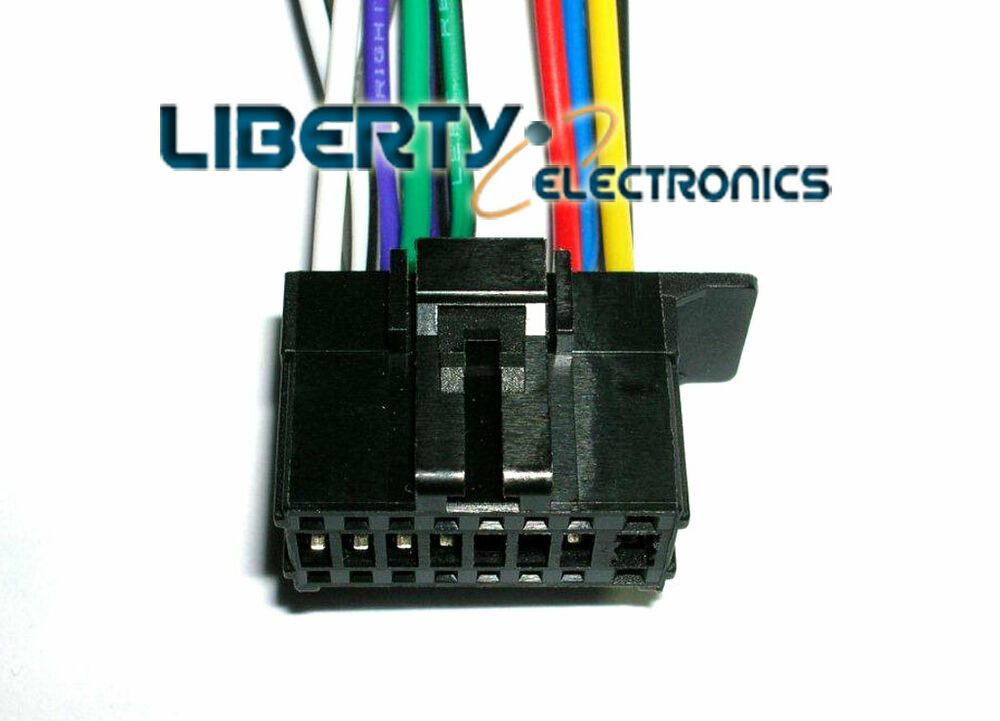 hight resolution of new 16 pin wiring harness plug for pioneer deh 1800 player ebaydetails about new 16 pin