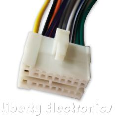 details about new 16 pin auto stereo wire harness plug for clarion vx 400 vx 401 player [ 867 x 950 Pixel ]