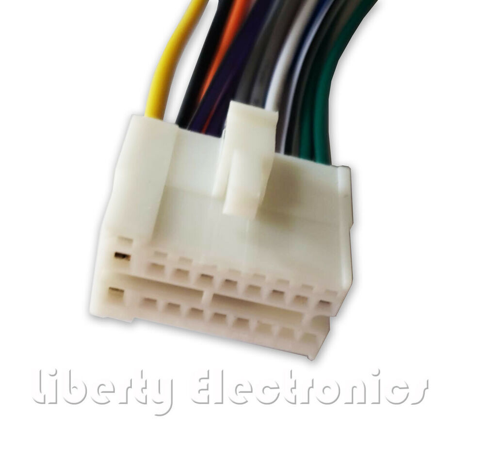 hight resolution of details about new 16 pin auto stereo wire harness plug for clarion vx 400 vx 401 player