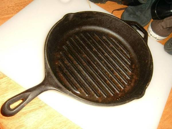 Lodge Cast Iron Grill Skillet 11quot Frying Pan Made in USA