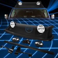 Offroad OE Style Roof Rack Air Dam+Fog Light+Cover Kit for ...