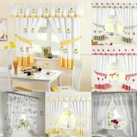Kitchen Curtains, Ready Made Curtain Panels, Many Designs ...