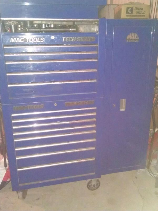 Mac Tools Tech Series Tool Box for Mechanic use Good