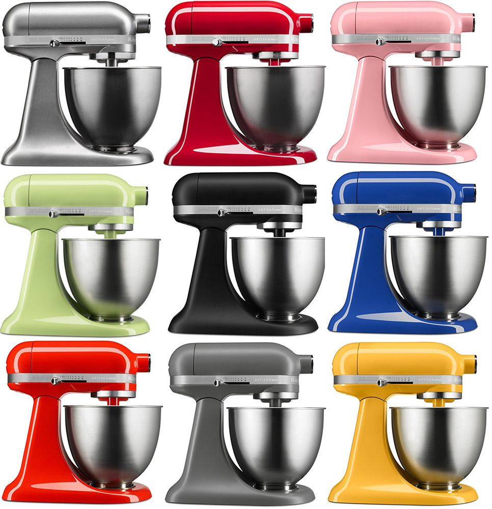 KitchenAid Stand Mixer tilt 35QT RKSM33XX Artisan Mini Tilt Choose Many Colors  eBay