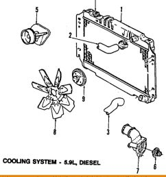 details about dodge chrysler oem 89 93 w250 engine coolant thermostat 83506401aa [ 848 x 1000 Pixel ]