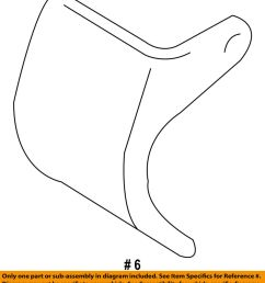 details about chrysler oem stabilizer sway bar front heat shield 4782817ab [ 899 x 1000 Pixel ]