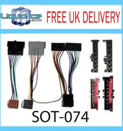 sot 074 ford connect 1997 2006 iso parrot harness adaptor wiring loom lead ebay [ 1000 x 1000 Pixel ]