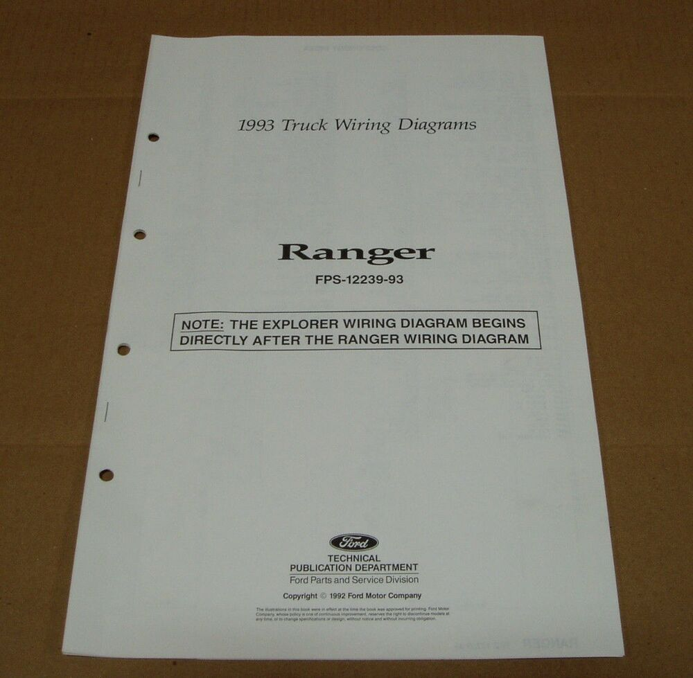 medium resolution of 1993 ranger wiring diagram