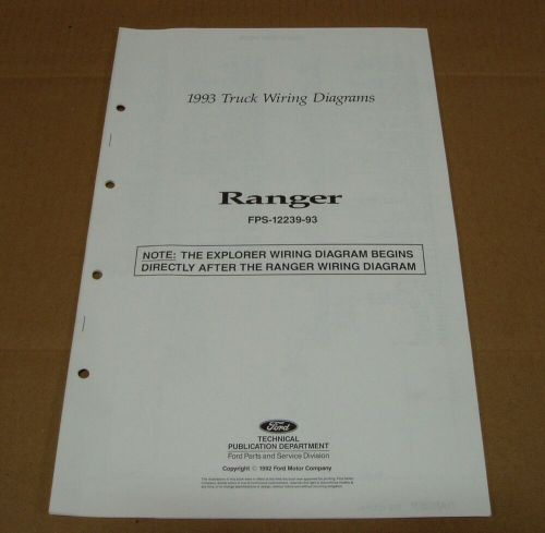 small resolution of 1993 ranger wiring diagram