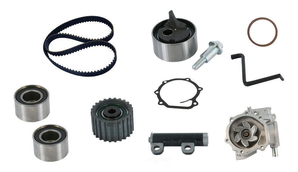 Engine Timing Belt Kit with Water Pump CRP fits 90-97