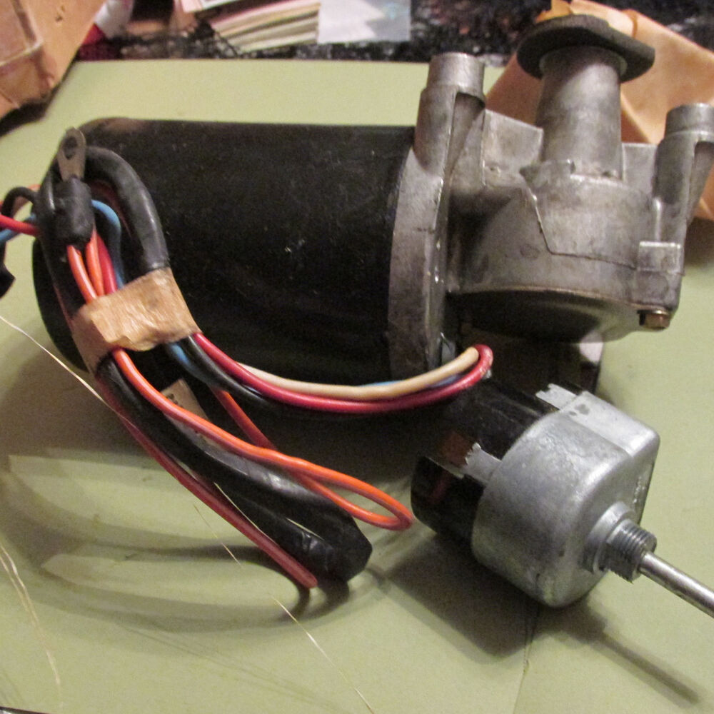 medium resolution of details about nos 1966 1967 ford econoline 2 speed electric windshield wiper motor assembly