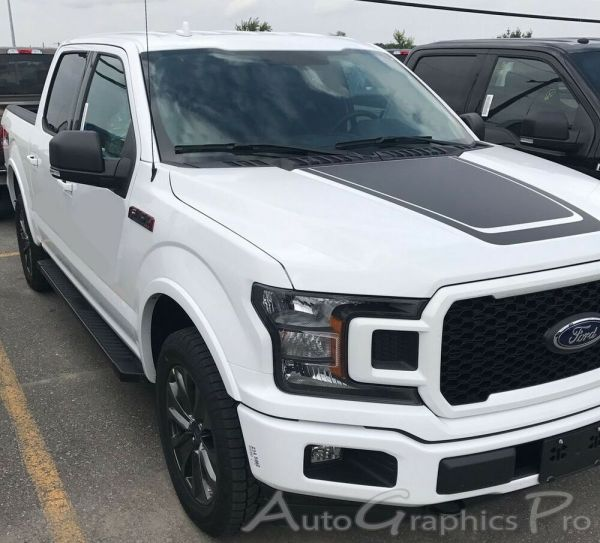 2015-2018 Ford -150 Hood Stripes Special Ed. Lead Foot 3m