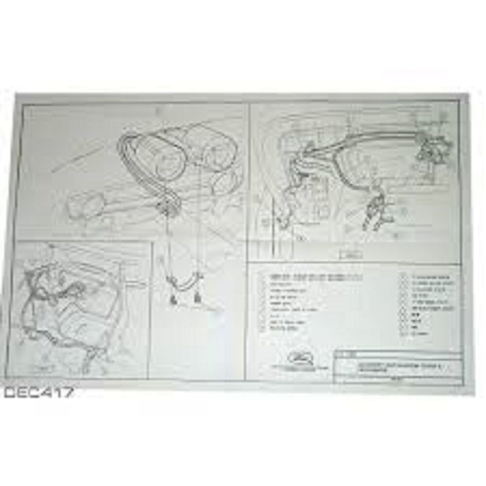 hight resolution of details about 1965 1966 ford mustang rallye pac pack wiring diagram