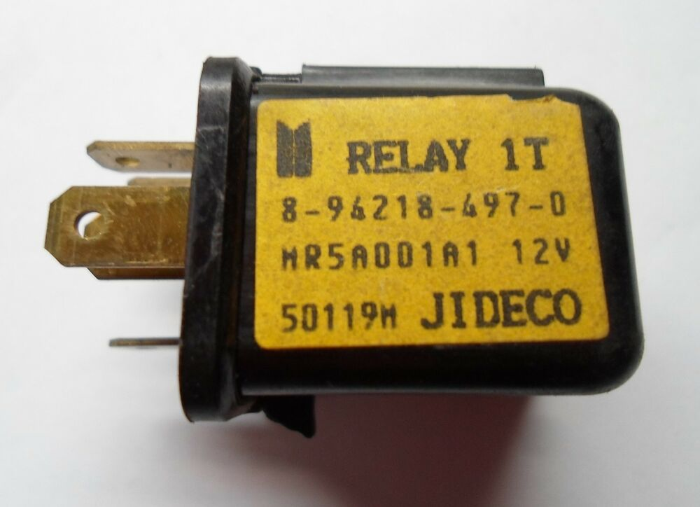 ISUZU 5 PIN OEM RELAY MR5A001A1 TESTED 6 MONTH WARRANTY