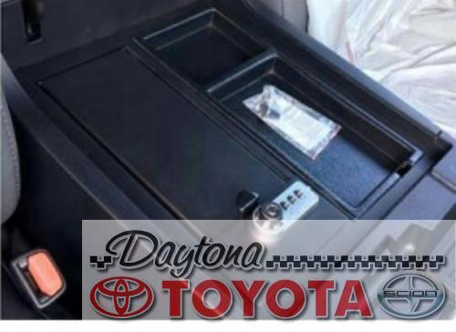 Oem Toyota Tundra Gun Safe For Center Console 00016 34174